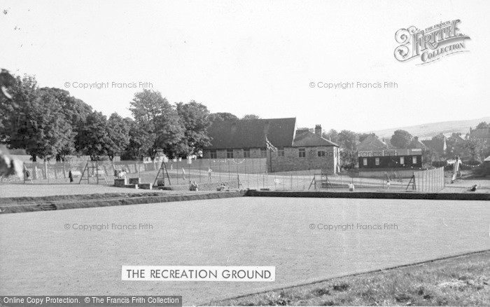 Photo of Allendale, The Recreation Ground c.1955