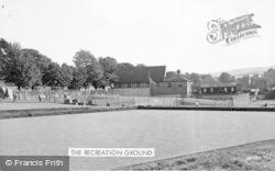 Allendale, The Recreation Ground c.1955