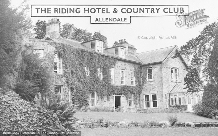 Photo of Allendale, The Riding Hotel And Country Club c.1955