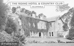Allendale, The Riding Hotel And Country Club c.1955