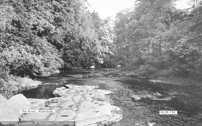 Photo of Allendale, The River c.1960