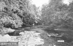 Allendale, The River c.1960