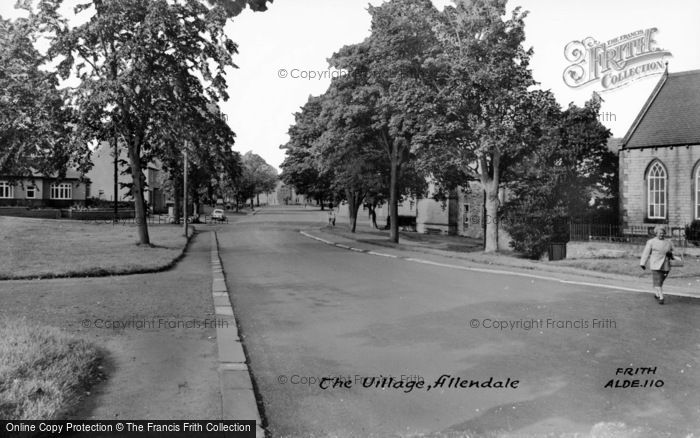 Photo of Allendale, The Village c.1960