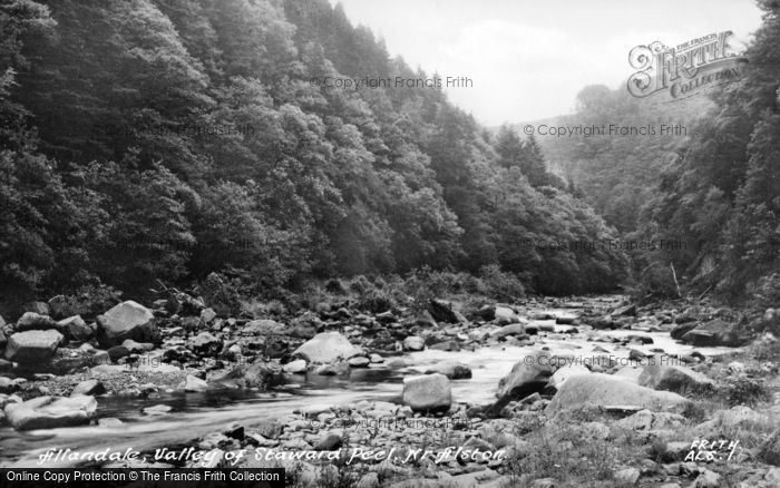 Photo of Allendale, Valley Of Staward Peel c.1950