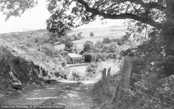 Photo of Allendale, Wide Eals Farm From The Main Road c.1955