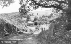 Allendale, Wide Eals Farm From The Main Road c.1955