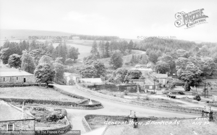 Photo of Allenheads, General View c.1965