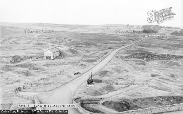 Photo of Allenheads, Slag Hill c.1955