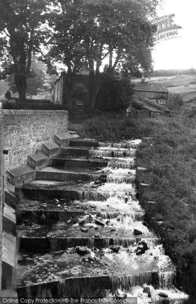 Photo of Allenheads, the Falls, Dovespool c1955