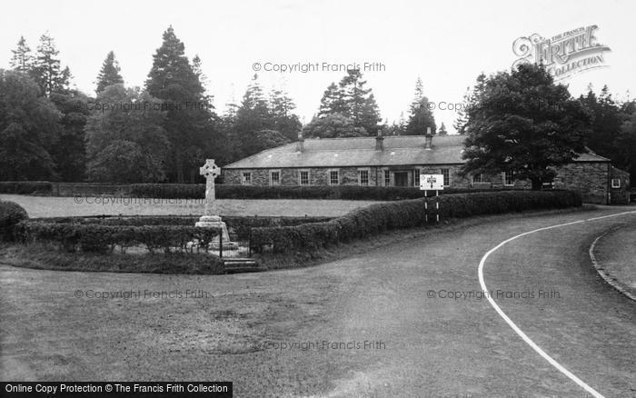 Photo of Allenheads, The Memorial And Beaumont Hall c.1955