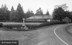 Allenheads, The Memorial And Beaumont Hall c.1955