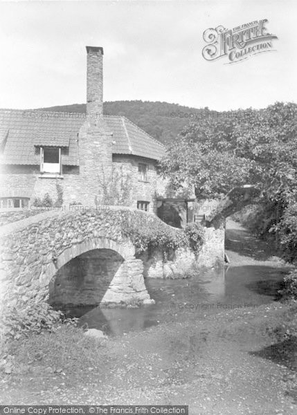 Photo of Allerford, Bridge 1931