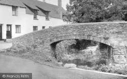 Allerford, Bridge c.1950