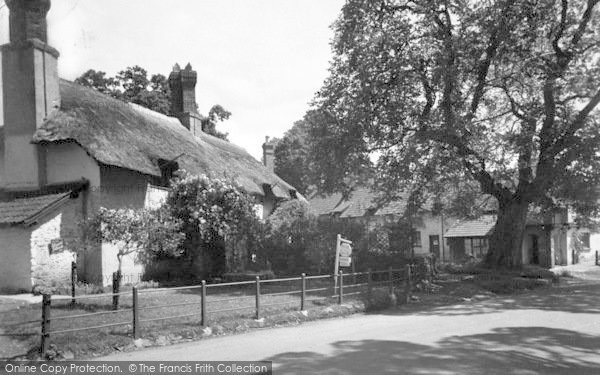 Photo of Allerford, Budleigh Hill c.1950