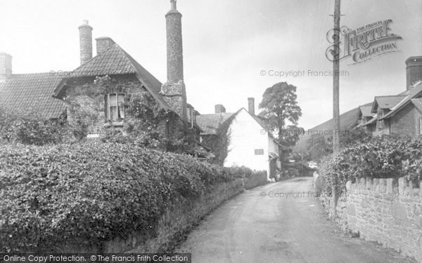 Photo of Allerford, Fern Cottage 1931