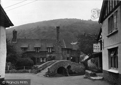 Allerford, Pack Horse Bridge c.1950