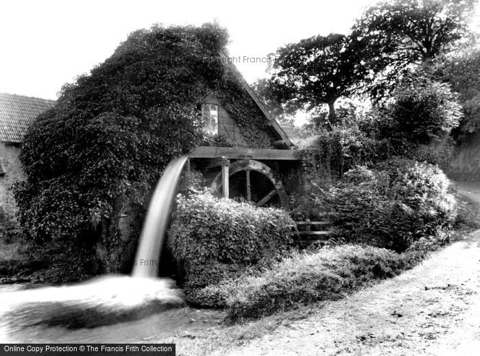 Photo of Allerford, Piles Mill 1931