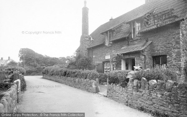 Photo of Allerford, Post Office 1938