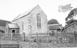 Allerford, The Lynch Chapel Of Ease c.1955