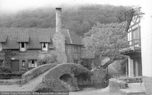 Photo of Allerford, The Packhorse Bridge c.1950