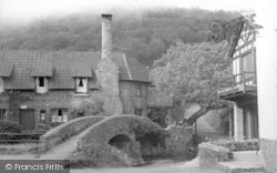 Allerford, The Packhorse Bridge c.1950
