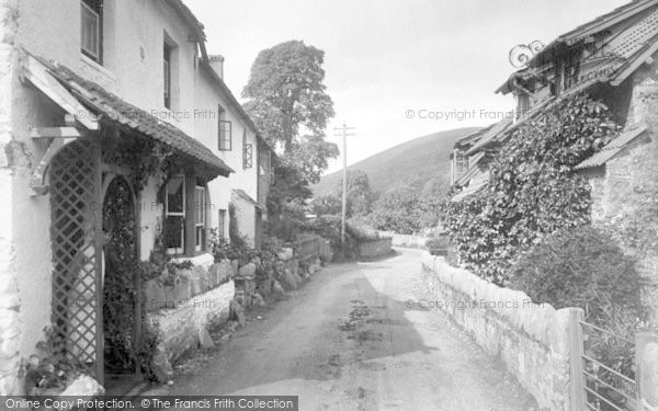 Photo of Allerford, The Village 1931