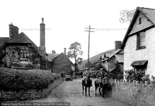 Photo of Allerford, Village 1923