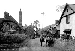 Allerford, Village 1923