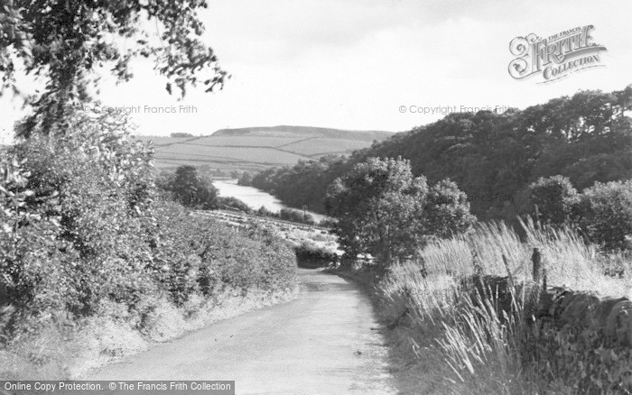 Photo of Allerwash, Road, Rail And River Tyne c.1955