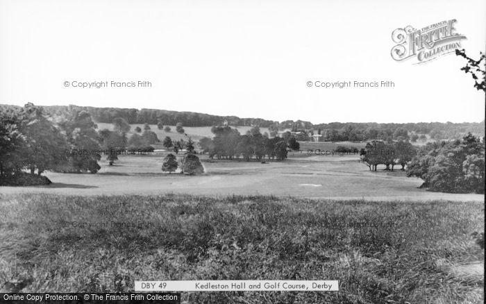 Photo of Allestree, Kedleston Hall And Golf Course c.1955