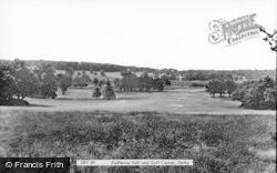 Kedleston Hall And Golf Course c.1955, Allestree