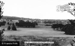 Kedleston Hall And Park c.1955, Allestree