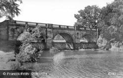 Kedleston Park, The Bridge c.1960, Allestree