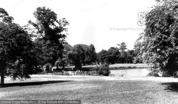 Photo of Allestree, Markeaton Park c.1960