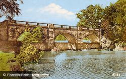 The Bridge, Kedleston Park c.1960, Allestree