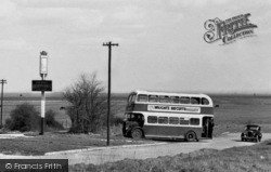 Allhallows, Double Decker Bus c.1955