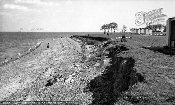 Photo of Allhallows, the Beach c1955
