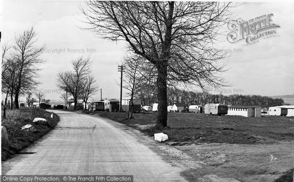 Photo of Allhallows, The Camping Site c.1955