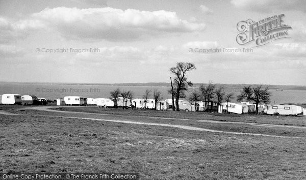 Allhallows, The Camping Site c.1955