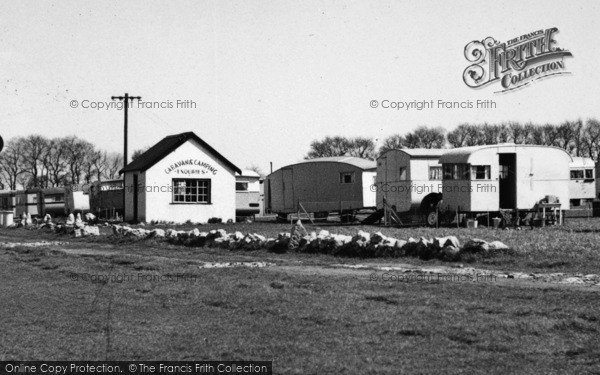 Photo of Allhallows, The Camping Site Office c.1955