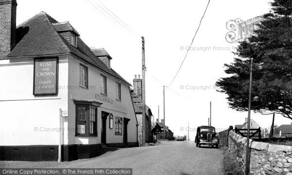 Photo of Allhallows, The Rose And Crown c.1950