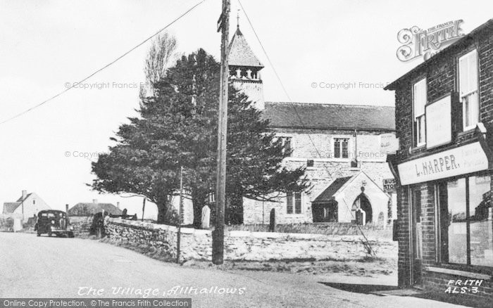 Photo of Allhallows, The Village c.1955