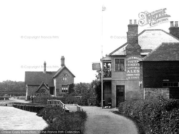 Photo of Allington, By Allington Lock 1898