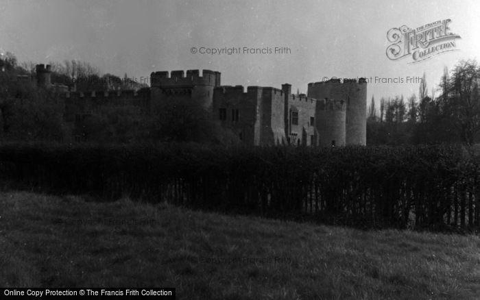 Photo of Allington, Castle 1954