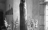 Allington, Castle, The Black Madonna c.1955