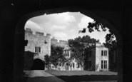 Allington, Castle, The Courtyard c.1955