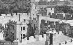 Allington, Castle, The Forecourt c.1955