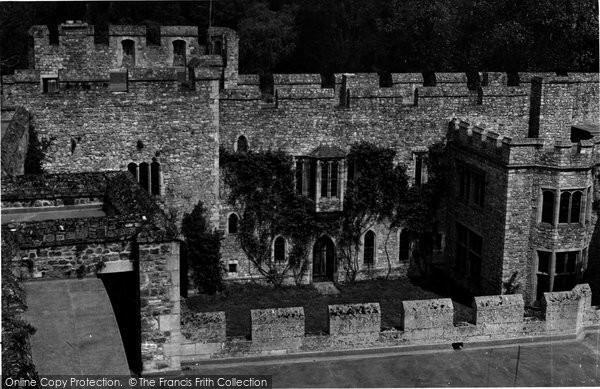 Photo of Allington, Castle, The Forecourt c.1955