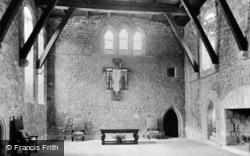 Allington, Castle, The Great Hall c.1955