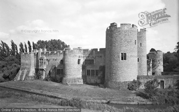Photo of Allington, Castle, The Penchester Wing c.1955